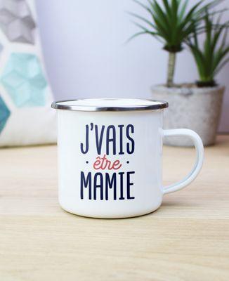 Mug J'vais être mamie