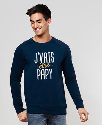 Sweatshirt homme J'vais être papy