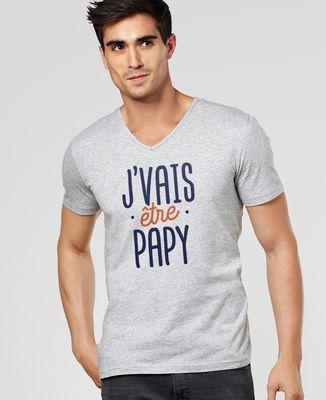 T-Shirt homme J'vais être papy