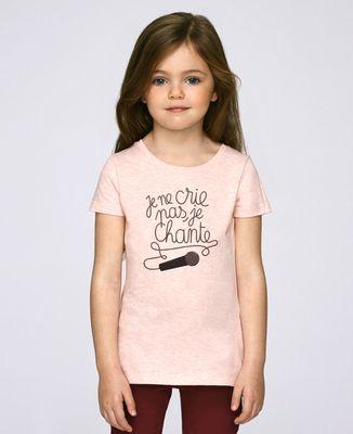 T-Shirt enfant Je chante