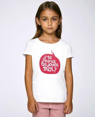 T-Shirt enfant J'te pince les joues moi