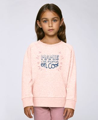 Sweatshirt enfant Mamie c'est Maman en cool