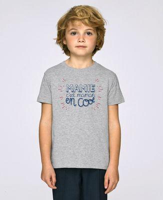 T-Shirt enfant Mamie c'est Maman en cool
