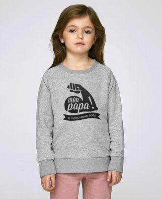 Sweatshirt enfant Mon Papa