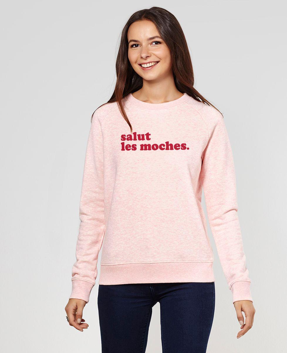 Sweatshirt femme Salut les moches