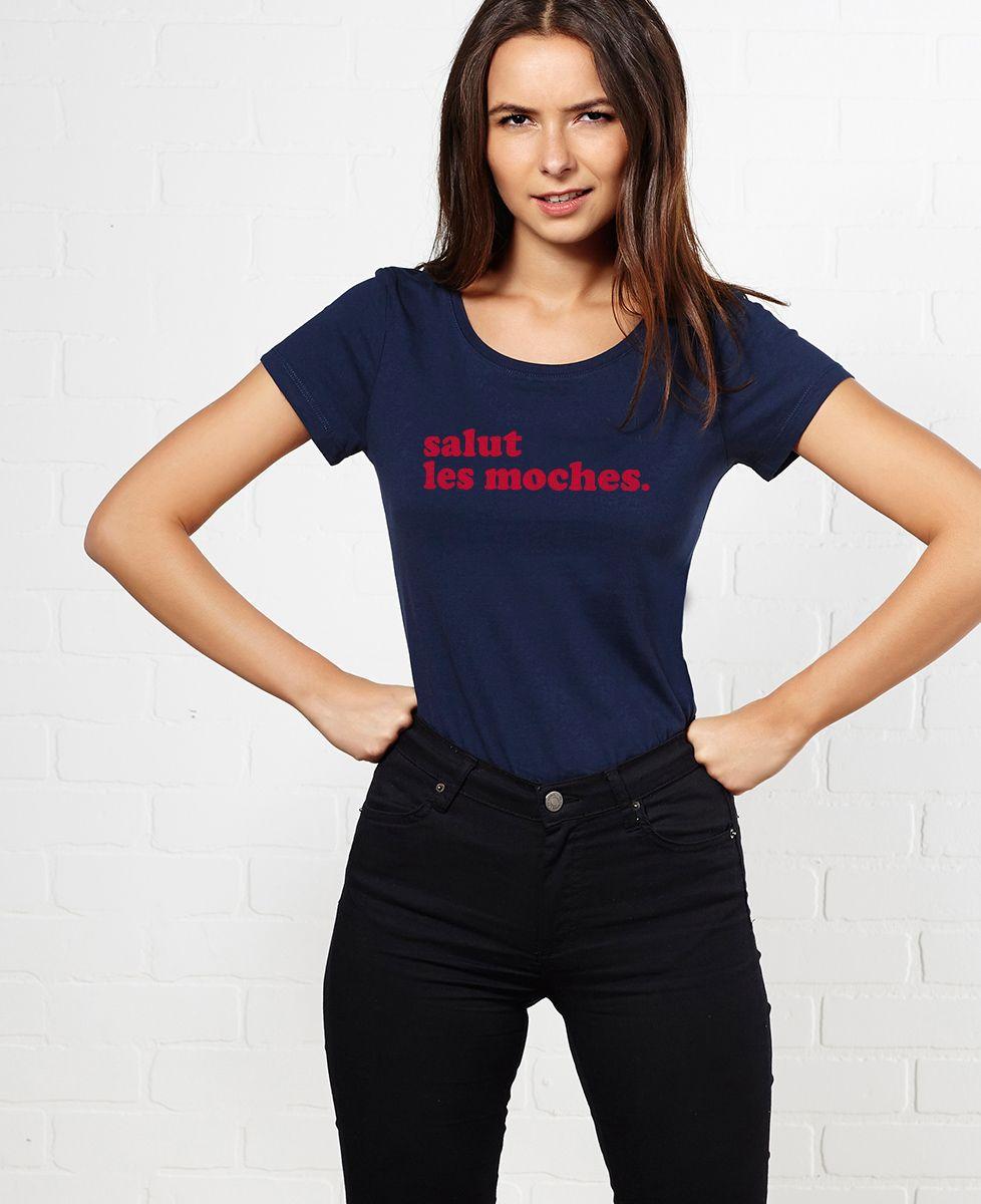 T-Shirt femme Salut les moches (édition limitée)