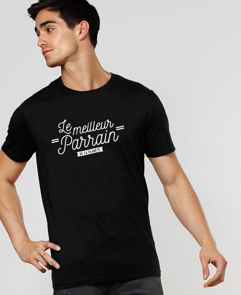 T-Shirt homme Le meilleur parrain