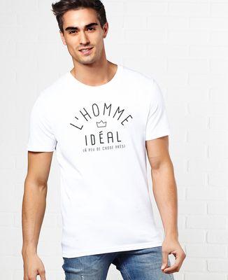 Coffret Ballon coeur + T-Shirt l'homme idéal
