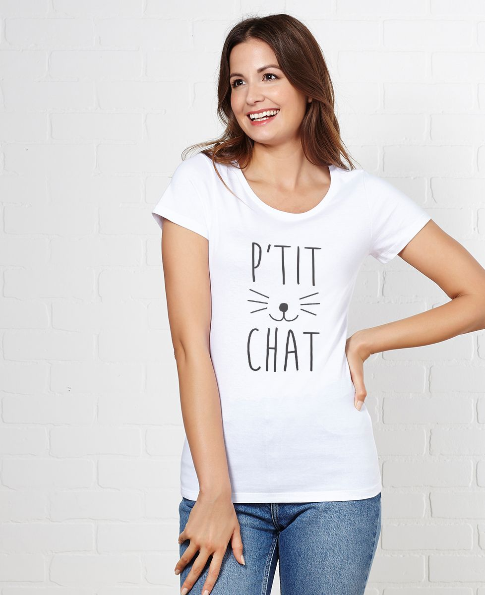 Coffret Ballon coeur + T-Shirt P'tit Chat