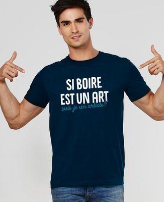 T-Shirt homme Suis-je un artiste