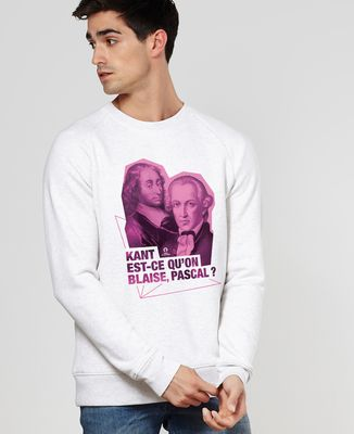 Sweatshirt homme Kant Cut