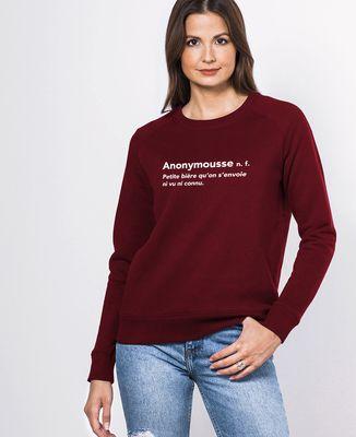 Sweatshirt femme Anonymousse