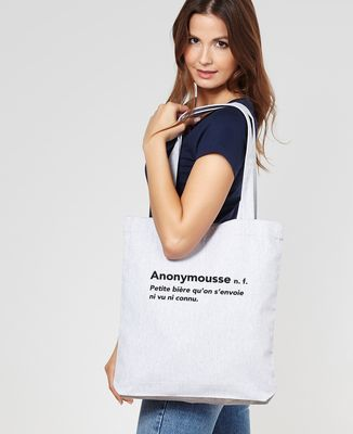 Tote bag Anonymousse