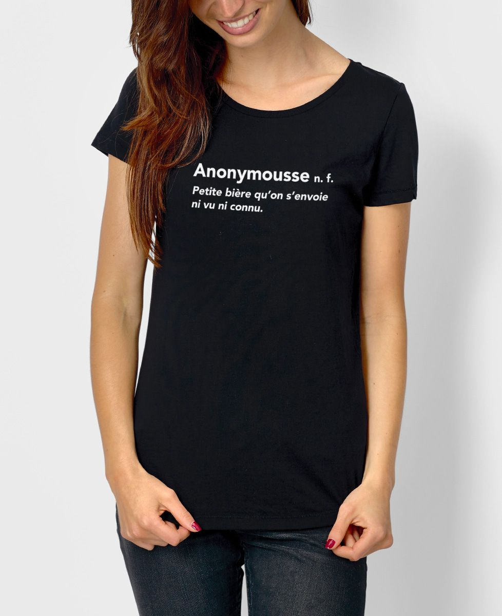 cf544bc734fd T-Shirt femme Anonymousse