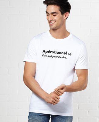 T-Shirt homme Apérotionnel