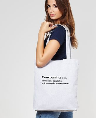 Tote bag Coucouning
