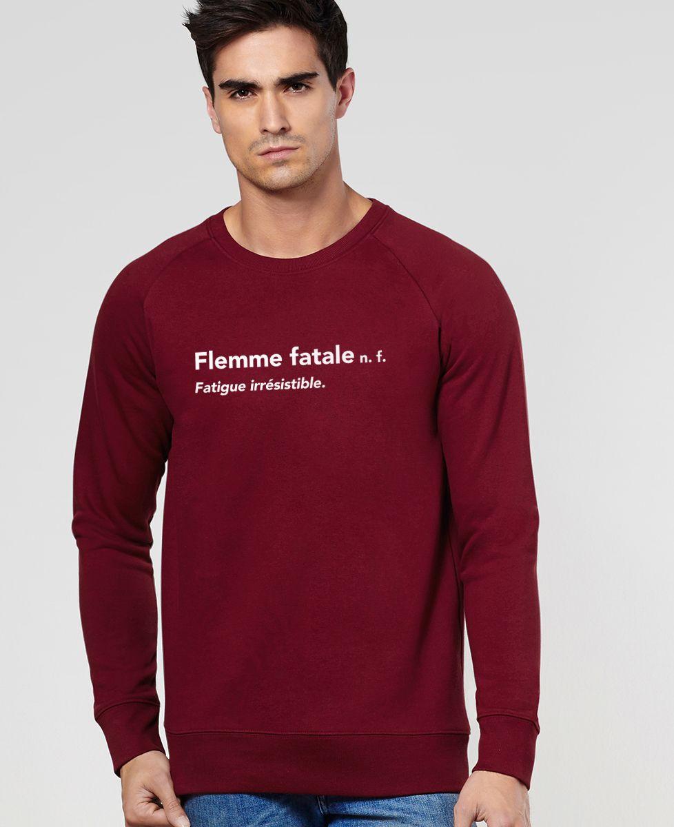 Sweatshirt homme Flemme fatale