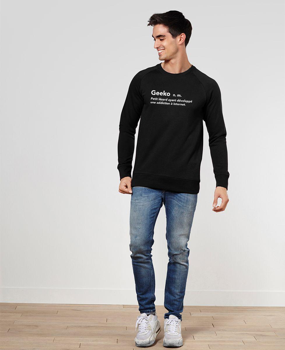 Sweatshirt homme Geeko