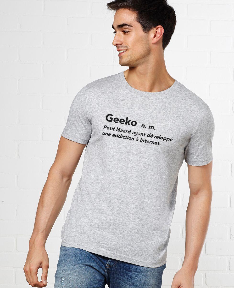 T-Shirt homme Geeko