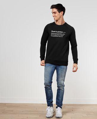 Sweatshirt homme Guet-à-pintes