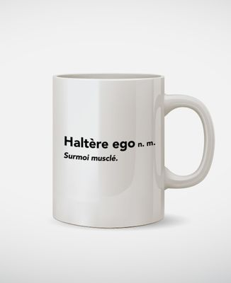 Mug Haltère égo