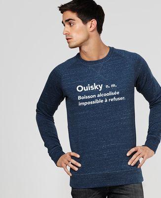 Sweatshirt homme Ouisky