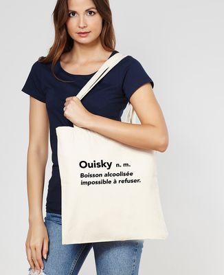 Tote bag Ouisky