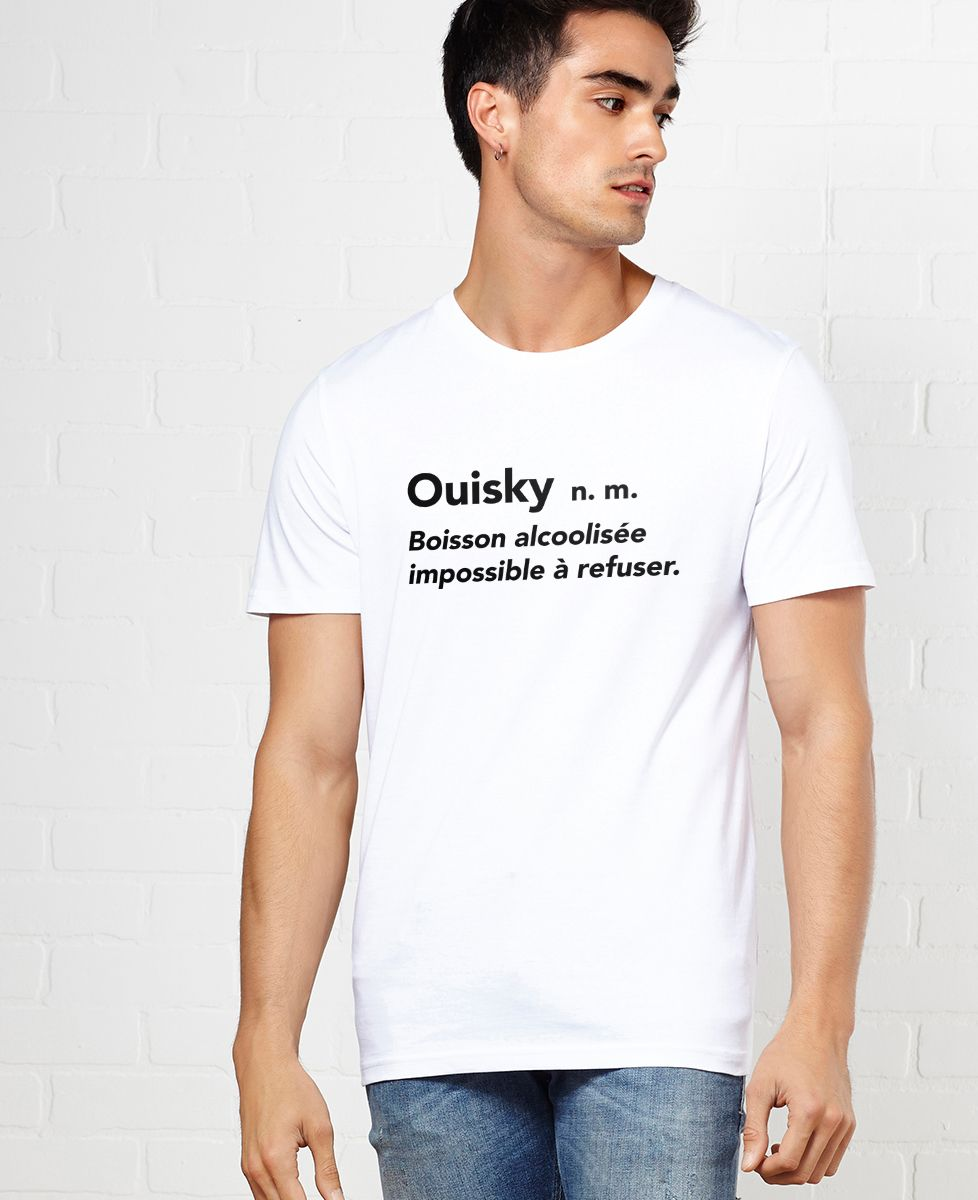 T-Shirt homme Ouisky