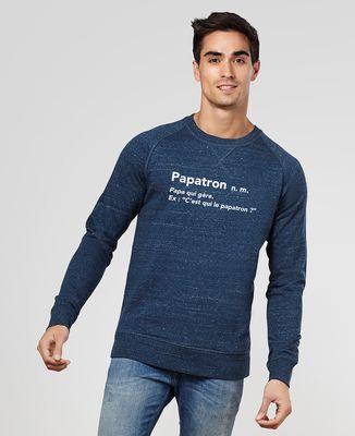 Sweatshirt homme Papatron
