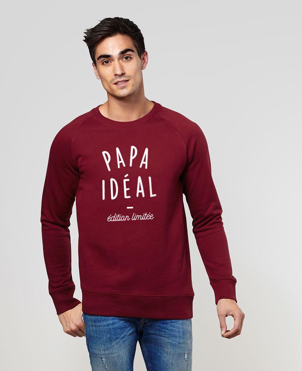 Sweatshirt homme Papa idéal édition limitée