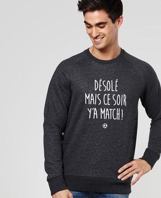 Sweatshirt homme Y'a match