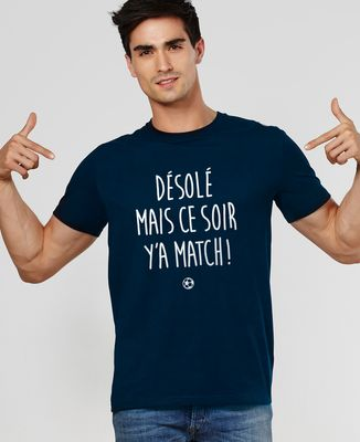 T-Shirt homme Y'a match