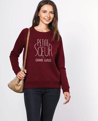 Sweatshirt femme Petite soeur
