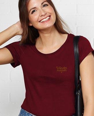 T-Shirt femme Wonder maman