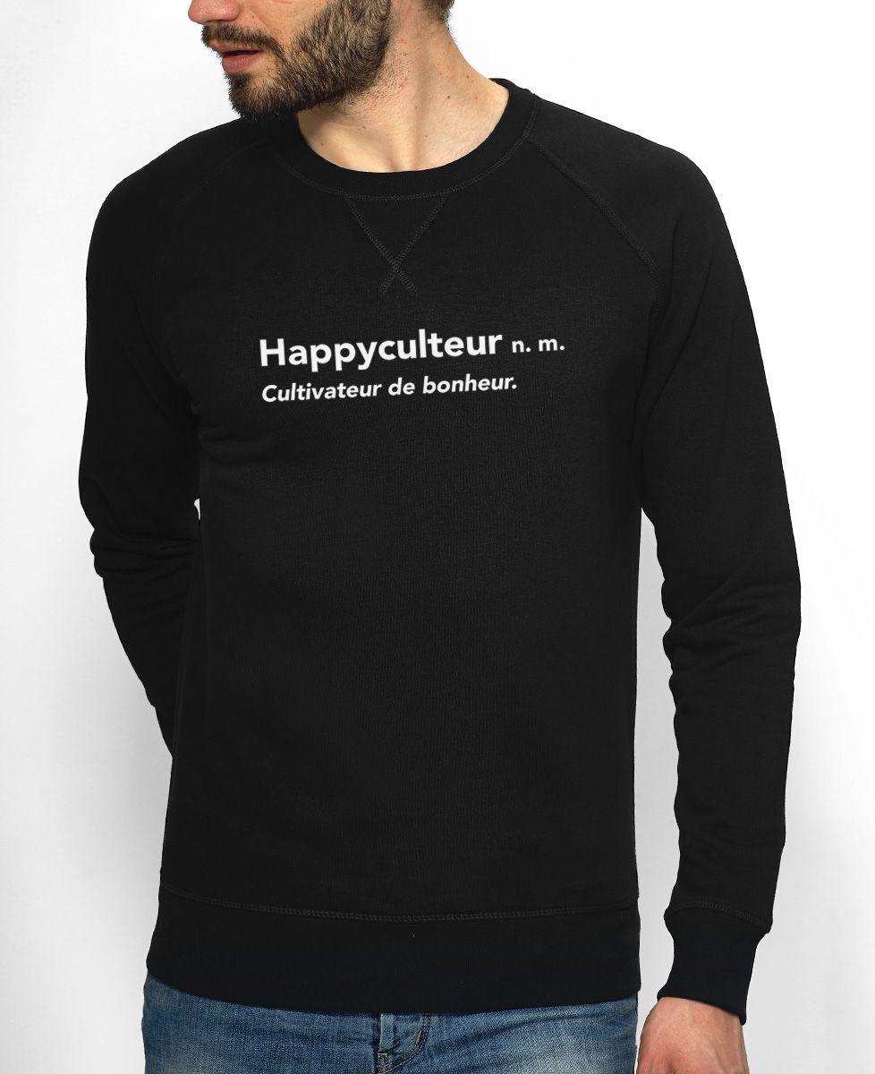 Sweatshirt homme Happyculteur