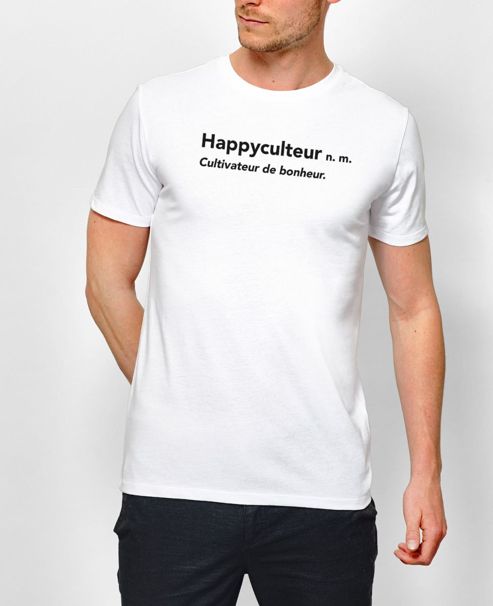 T-Shirt homme Happyculteur