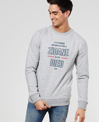 Sweatshirt homme Zidane (Dieu)