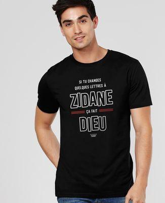 T-Shirt homme Zidane (Dieu)