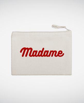 Pochette Madame (effet velours)