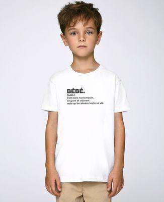 T-Shirt enfant Bébé définition