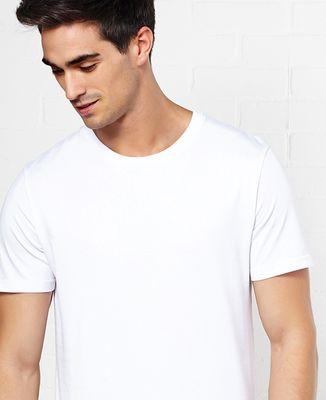 T-Shirt homme Grand coeur brodé personnalisé