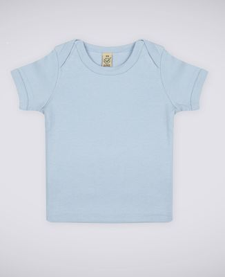 T-Shirt bébé Grand coeur brodé personnalisé