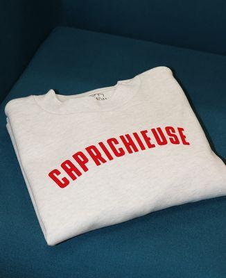 Sweatshirt femme Caprichieuse