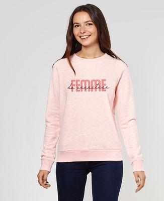 Sweatshirt femme Femme de caractère