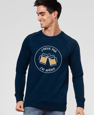 Sweatshirt homme J'peux pas j'ai apéro