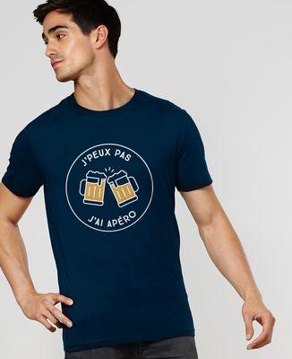 T-Shirt homme J'peux pas j'ai apéro