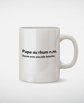 Mug Papa au rhum