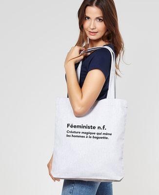 Tote bag Féeministe