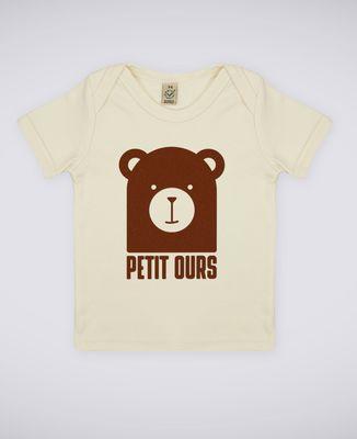 T-Shirt bébé Petit ours