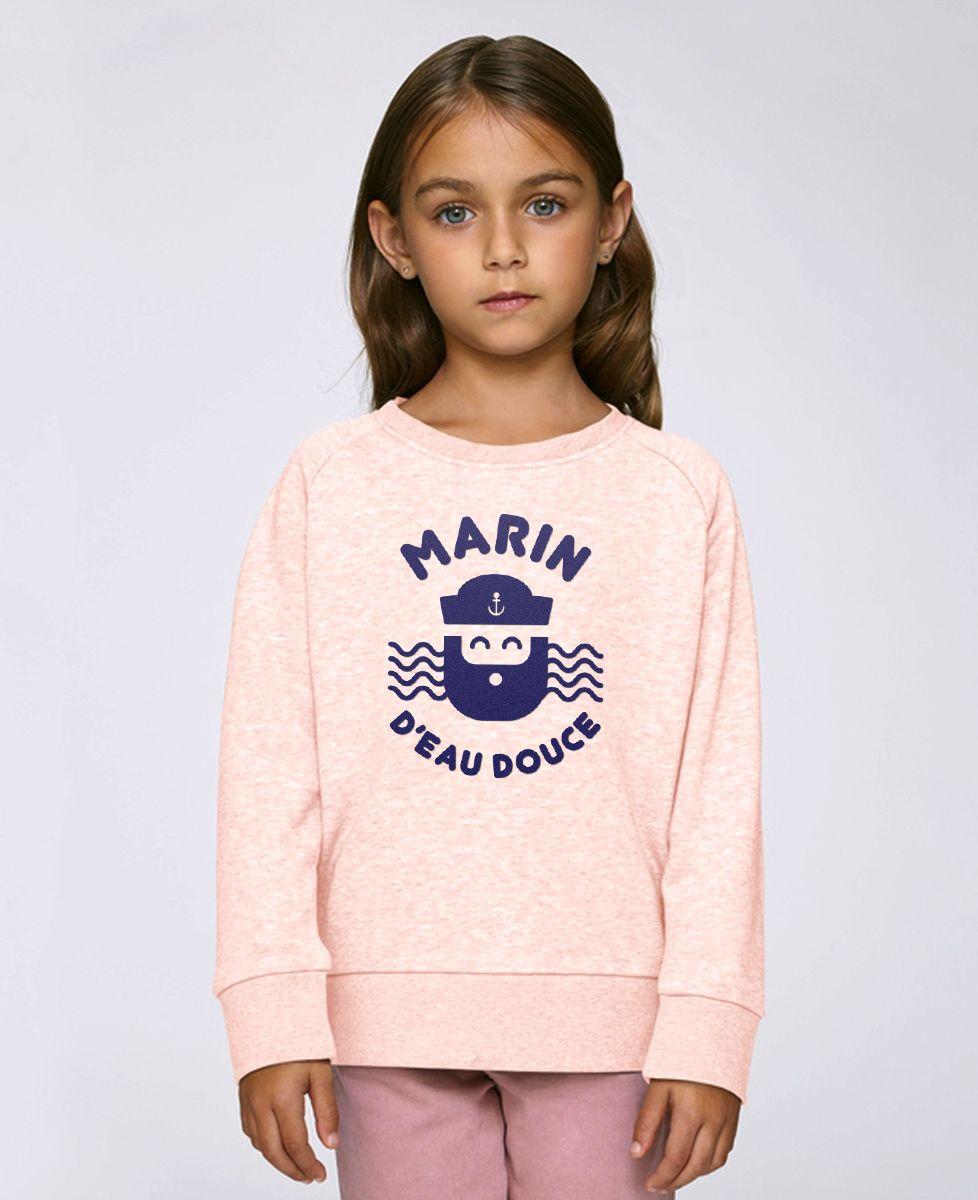 Sweatshirt enfant Marin d'eau douce